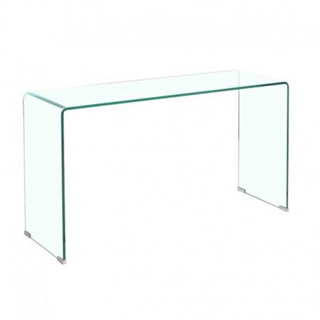 Consola de cristal