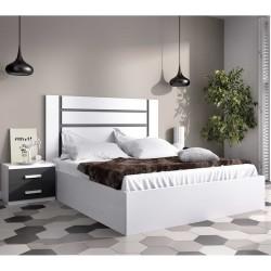 Dormitorio Blanco y Grafito