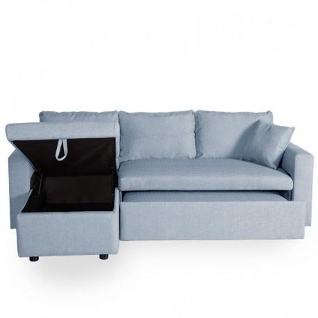Sofá cama con Chaise Longue.