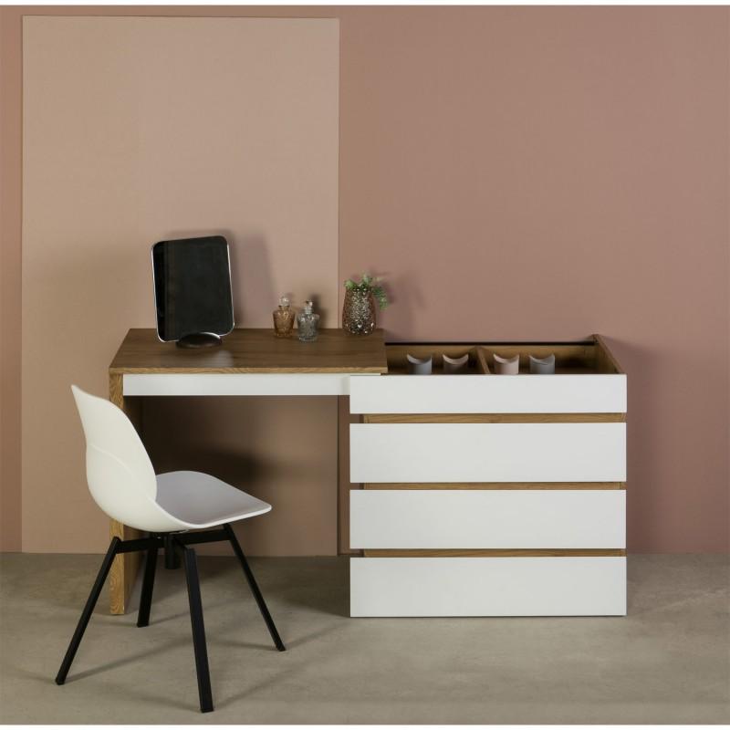 Mueble Multiusos: Tocador-Cómoda-Escritorio (Varios Acabados)