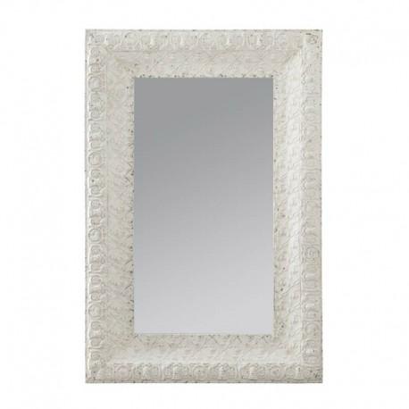Espejo con marco en metal