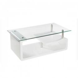 Mesa centro rectangular (blanca o roble)