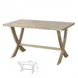 Mesa vintage madera envejecida