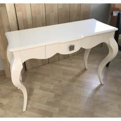 Consola blanco lacado brillo (exposición)