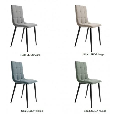 """Conjunto cuatro sillas """"Lisboa"""""""