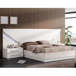 Canapé abatible con tapa tapizada