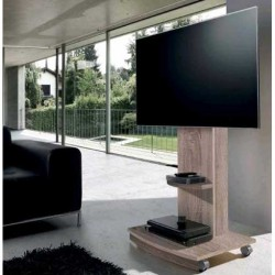Soporte TV en color Roble Natural