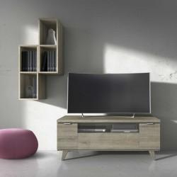 Módulo TV con puerta abatible y hueco