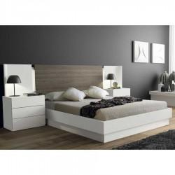 Canapé abatible con base tapizada