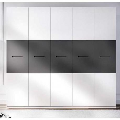Armario cinco puertas Blanco