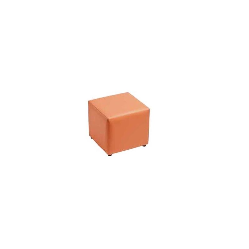 Puff cuadrado fijo - Puff cuadrados ...