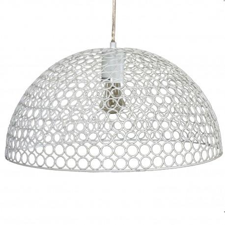 Lámpara de techo de metal Blanco