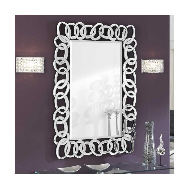 Espejo con marco de lunas tienda - Espejo marco negro ...