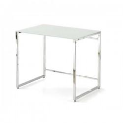 Mesa ordenador con estructura de metal