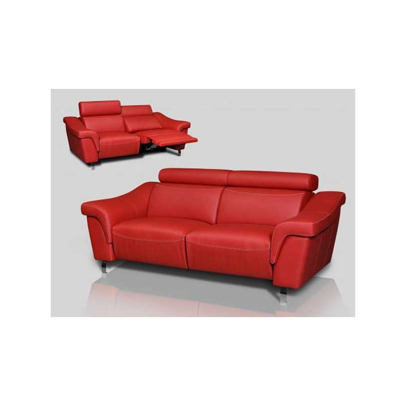 Sofas piel ofertas hogar y ideas de dise o for Catalogos de sofas de piel