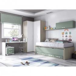 Habitación con doble cama