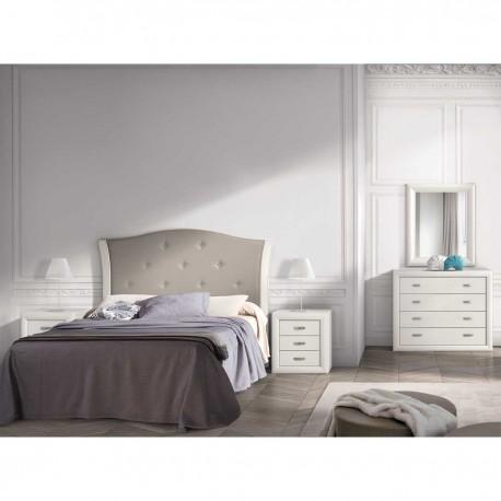 Dormitorio acabado Blanco