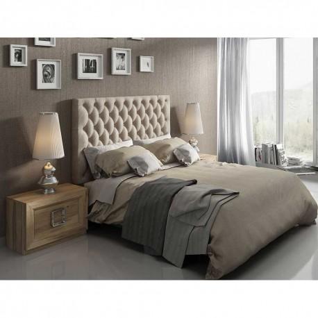 Dormitorio acabado en Roble y Plata Vieja