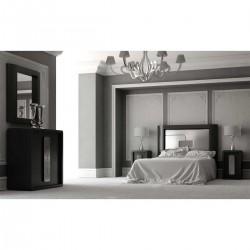 Dormitorio en Negro Mate
