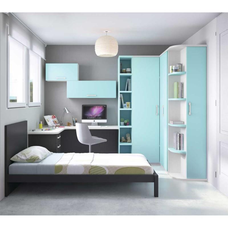 Cama de habitaci n juvenil - Espejos para habitacion juvenil ...