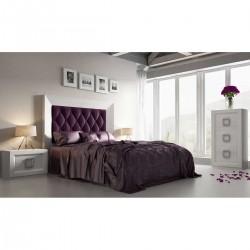 Dormitorio acabado en Roble Blanquecino.