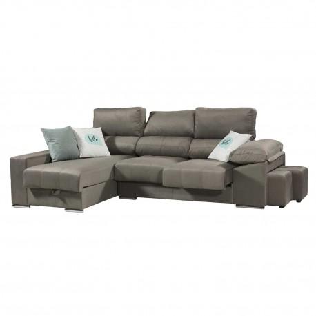 Sofá chaise longue Modelo RAU