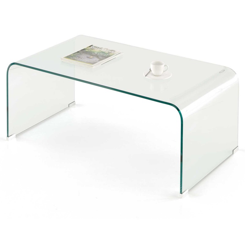 Mesa centro de vidrio templado env o gratuito - Mesa de estudio de cristal ...
