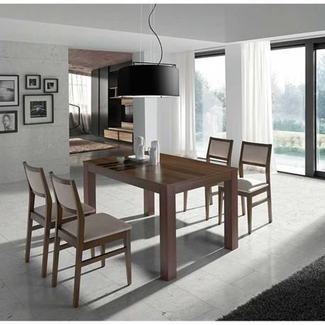 """Conjunto mesa y sillas """"Niza"""""""