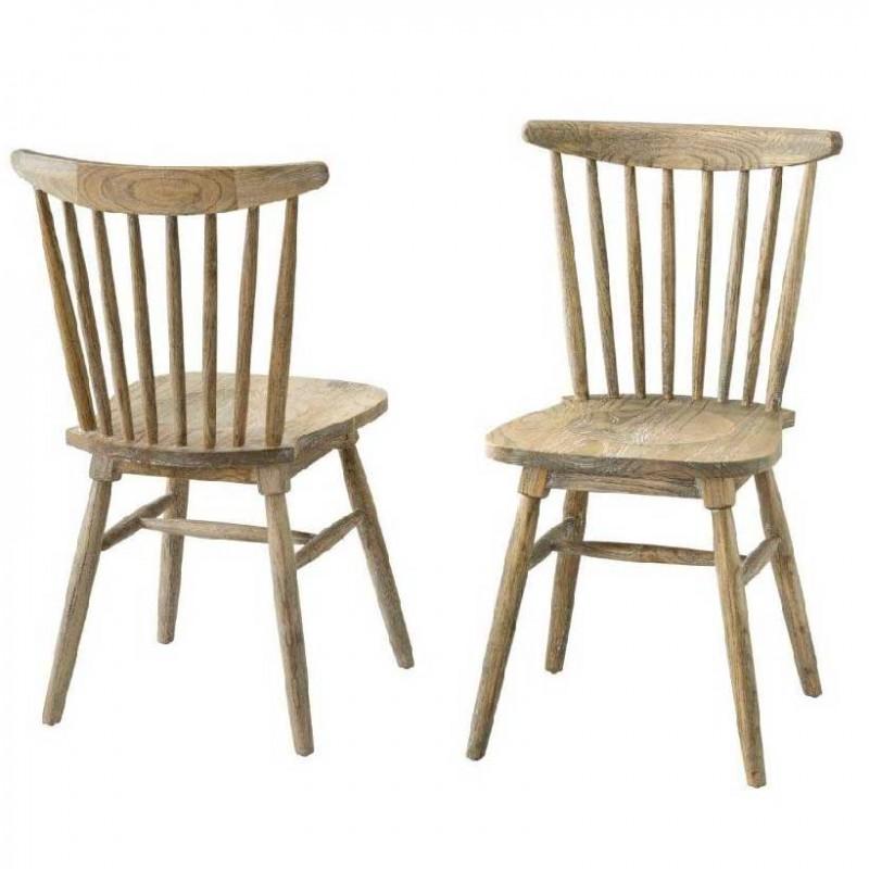 sillas comedor rústicas vintage