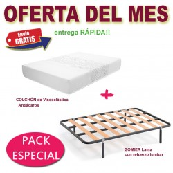 PACK ESPECIAL somier+colchón!