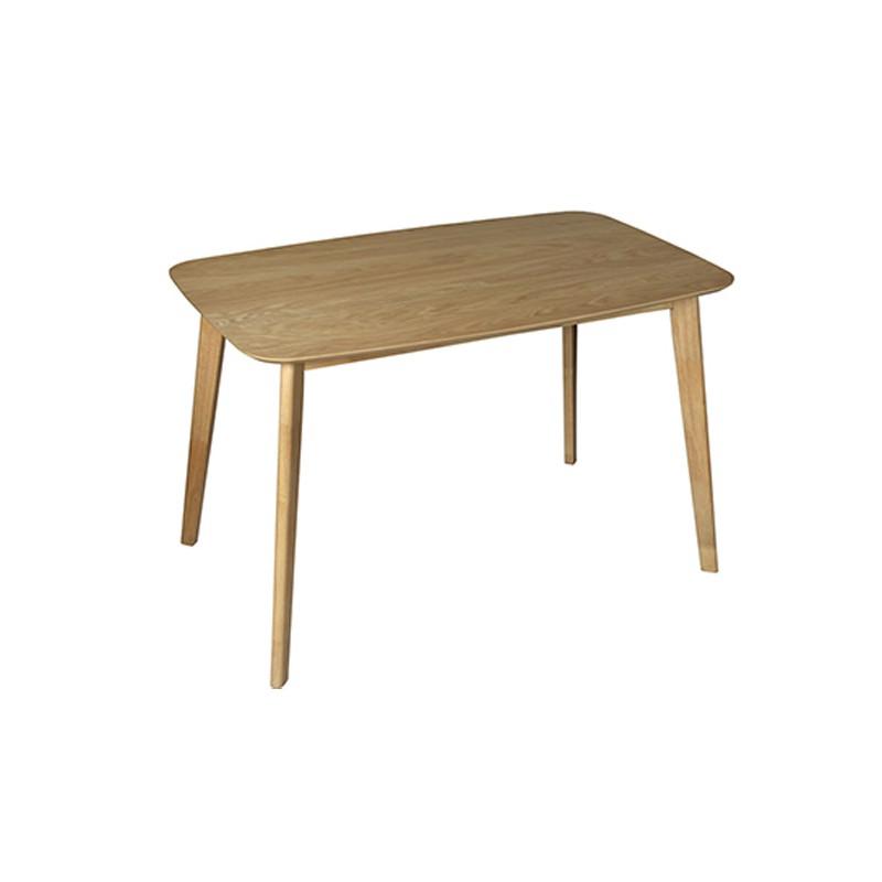 Mesa de comedor rectangular de estilo n rdico y excelente for Mesa comedor nordica