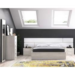 Dormitorio con canapé elavable