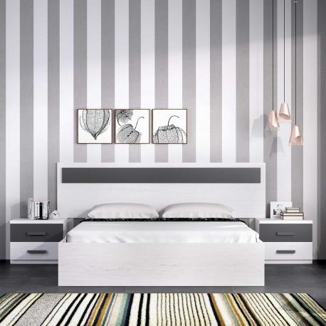 Cabezal Artic y Grafito (Dormitorio Completo opcional)