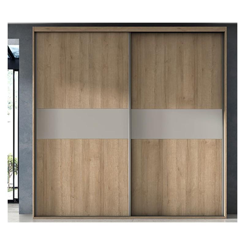 Armario de dos puertas correderas con gran capacidad varios acabados - Armario 2 puertas correderas ...