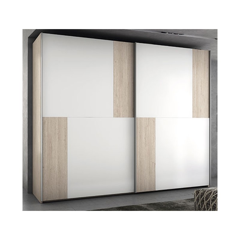 Armario 2 Puertas Correderas Posibilidad Varias Combinaciones De Color