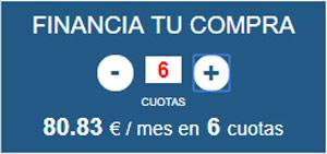 Calculadora pagos y cuotas en MueblesAlfafar.es
