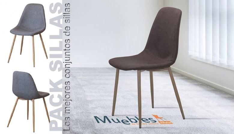 Conjuntos de sillas de todos los estilos y diseños