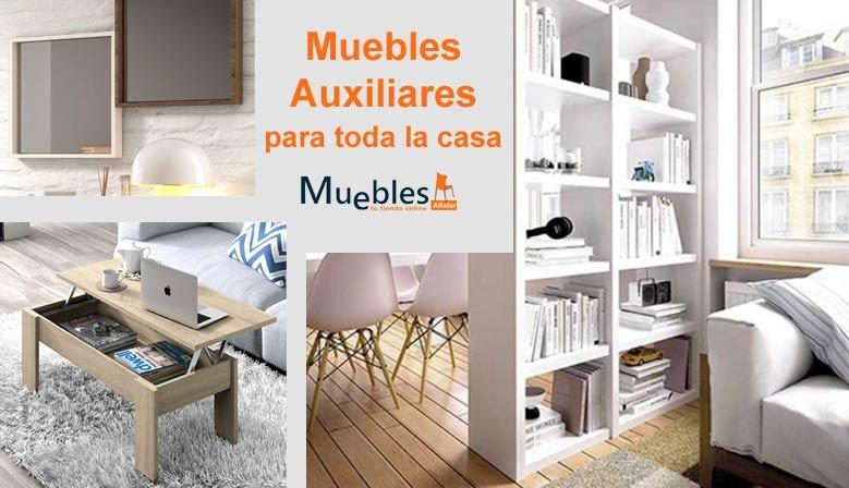 Muebles auxiliares de todo tipo en mueblesalfafar.es