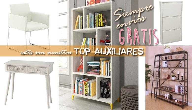 Mueblesalfafar.es, tienda online muebles: TOP auxiliares