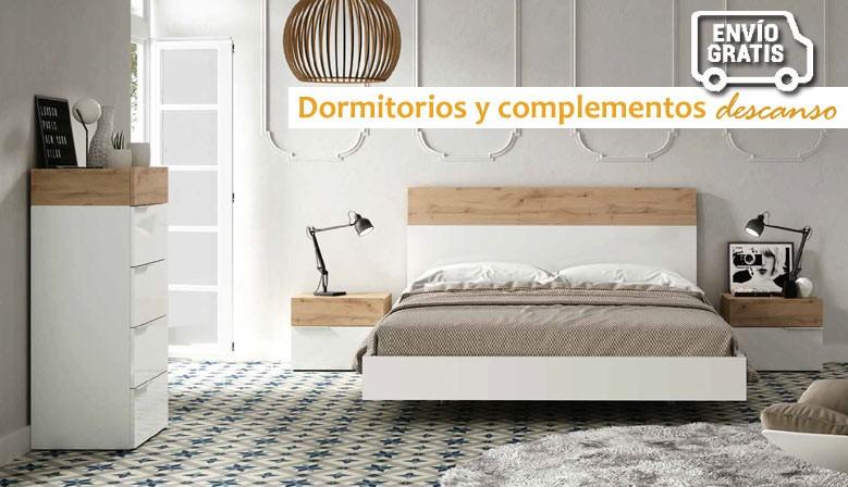 Mueblesalfafar.es - Dormitorios modernos con camas, mesitas, canapé, sinfonier, cómodas,...